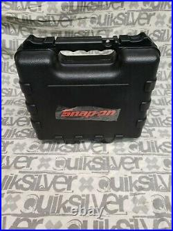 Snap-On 44-piece 1/4 Drive Socket Set Ratchet Kit Case Foam 144TMPBFR RARE