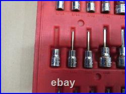 Snap On PB161 36 Piece Torx Metric/SAE Hex Driver Bit Socket Set 236EFSET