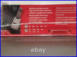 Snap On Tools 12 Pc Torx Bit Sockets 1/4 & 3/8 Dr Set In magnetic tray 212EFTXY