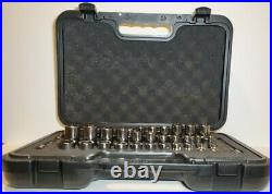 Snap On Tools 51Pc 3/8 Drive 6 Point MM/SAE General Service Set 251FSMBFR. NEW