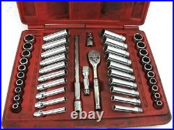 Snap On Tools PB99A 1/4 Drive Socket Set Metric and SAE
