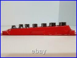 Snap-on 7 pc 3/8 TORX Low-Profile Socket Set 207RFLE