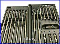 Snap-on Tools USA NEW 19pc Assorted Long Power Bit Set SDML19KT with Plastic Case
