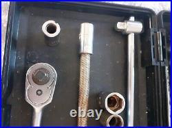 Stahlwille 1/4 Socket Set Metric BA & AF 42 Piece Set