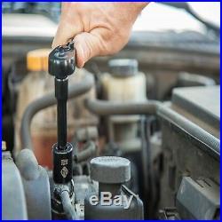 Stanley 123 Piece Mechanics Garage Tool Set Chrome Standard Hard Case Metric SAE