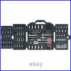 Stanley 96-011 170PC Chrome Vanadium Forged Mechanics Tool Set, 170pc