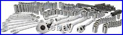 Stanley Mechanics Drivers Bits Ratchet Socket 201-Piece Tool Set Wrench Hex Keys