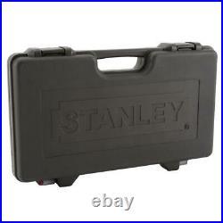 Stanley Metric SAE Mechanics Tool Set Ratchet Socket Drive Laser Etched 69 Pcs