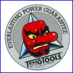 Teng Tools 187 Piece 1/4,3/8 & 1/2dr Mega Rosso Mechanics Tool Kit TC187