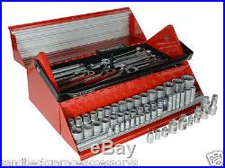Teng Tools 187 Piece 1/4,3/8 & 1/2dr Mega Rosso Tool Kit TC187