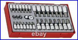 Teng Tools TTBS35 1/4 & 3/8 Drive Bit Socket Set