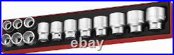 Teng Tools TTX34AF 14 Piece 3/4 Drive Imperial 12 Point Socket Set