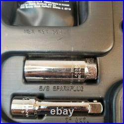 Vintage Craftsman Made In USA 53 Piece Mechanics Tool Set with Case 9-35053 EUC