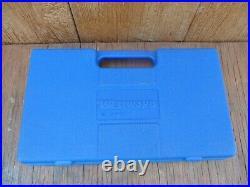 WESTWARD 51 PC 1/4 & 3/8 Drive Socket Set SAE & Metric Standard & Deep 4YP76