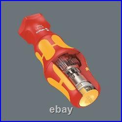 Wera Kraftform Kompakt Turbo i 1 VDE Screwdriver Set 16 Piece SAE 05057485001